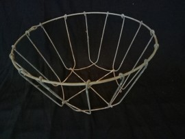 NEW but Weathered Wire Baskets